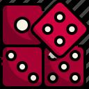 0aluck, casino, dice, entertainment, gambling, game, gaming