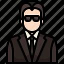 avatar, character, guard, job, man, occupation, profession icon