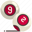 eight, gaming, ball, pool, snooker, entertainment, billiard icon