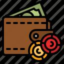 wallet, money, bills, cash, payment
