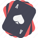 aces, cards icon