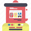 machine, slot, slotmachine icon