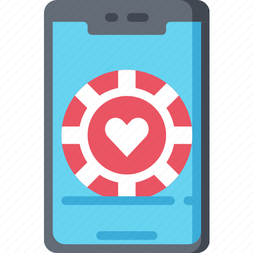 Betting, casino, gambling, mobile games, phone icon - Download on Iconfinder