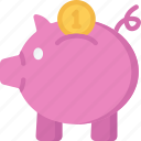 bank, betting, casino, gambling, piggy, savings icon