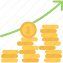 betting, casino, gambling, money, profit icon