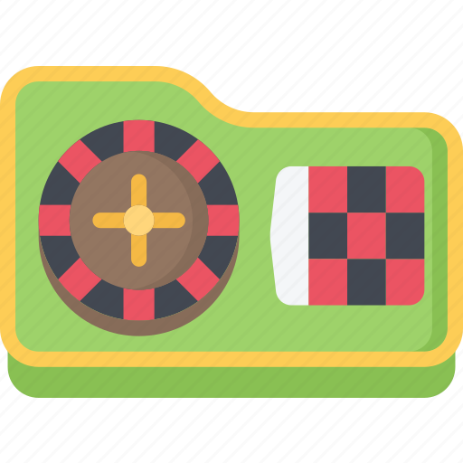 betting, casino, gambling, games, roulette, table icon