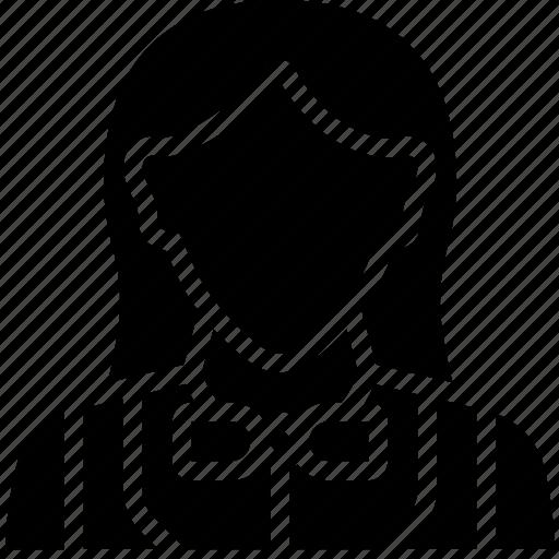 avatar, betting, casino, croupier, female, gambling icon