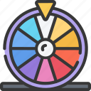 betting, casino, gambling, prize, prizes, wheel icon