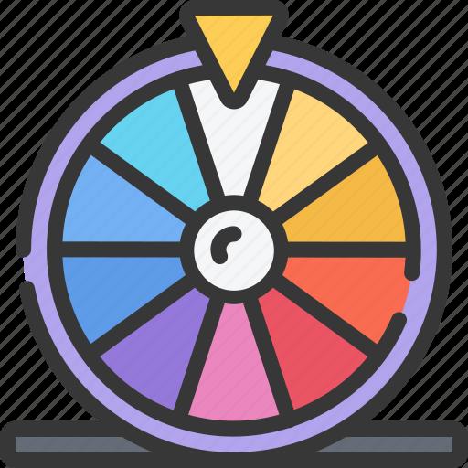 betting, casino, gambling, prize, prizes, wheel icon