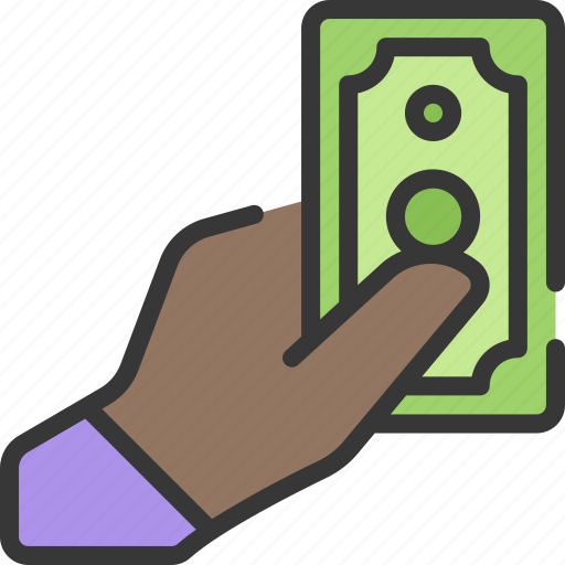betting, casino, gambling, give, hand, money icon