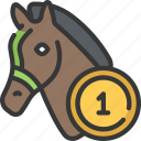 bets, betting, casino, gambling, horse, racing, sports icon