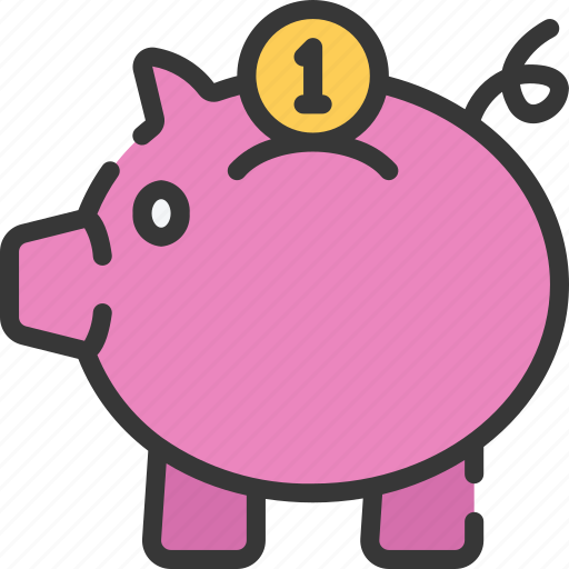 bank, betting, casino, gambling, piggy, savings icon