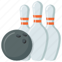 arcade game, bowling, bowling pin, game, tenpin
