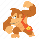 arcade game, computer game, donkey kong, game character, video game icon