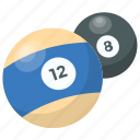arcade game, billiard, billiard balls, game, pool ball icon