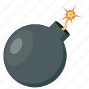 bomb, computer game, enemy game, explosive, video game icon