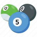 arcade game, billiard, cue sport, game, pool ball icon