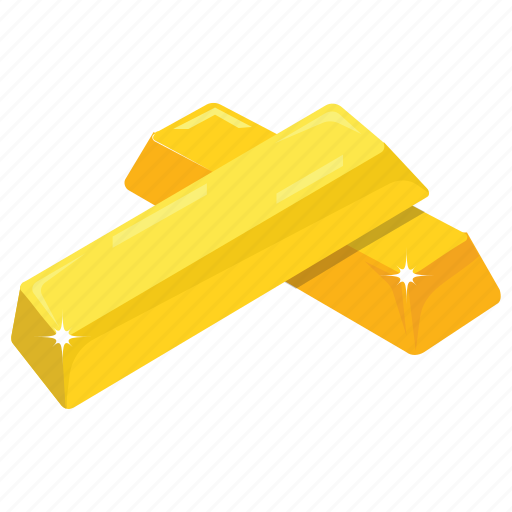 Game bonus, gold asset, gold bricks, gold reserves, wealth icon - Download on Iconfinder