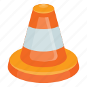 cone, cone games, hazard cone, ring game, traffic cone icon