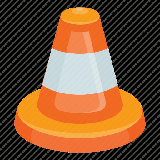 cone, cone games, hazard cone, ring game, traffic cone icon