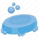 bathing soap, beauty soap, soap and bubbles, soap bar, soap clipart icon