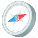 compass, compass application, compass tool, old navigation tool, qibla direction icon
