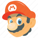 arcade game, computer game, game character, super mario, video game icon
