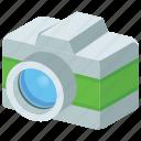 camera, game icon, instant camera, photography equipment, polaroid camera icon