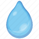 driblet, droplet, liquid particle, teardrop, water drop icon