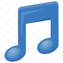 game sound option, melody symbol, music, music note, sound button icon