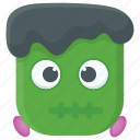 cartoon character, dead man, halloween game, scary character, zombie icon