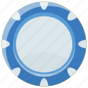 cog, cogwheel, gear, process symbol, pulley gear icon