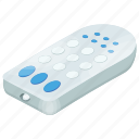button remote, controller, remote control, wireless device icon
