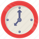 clock, time clock, timing game, video game icon, wall clock