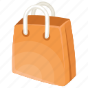 online shopping icon, paper bag, shopping bag, shopping bag clipart, single shopping bag