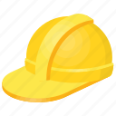 construction helmet, engineer hat, hard hat, helmet clipart, yellow workers hat