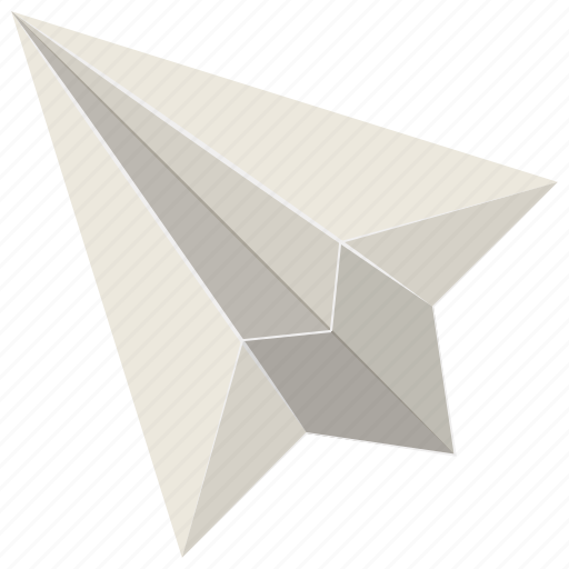 Paper airplane, paper flight, paper plane, paper plane clipart, plane origami icon - Download on Iconfinder