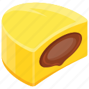 butterscotch, candy, chocolate candy, christmas candy, game food icon
