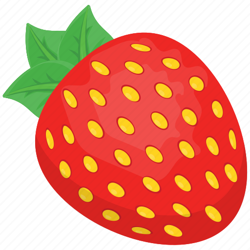 Fruit ninja, fruits, kids game character, strawberry, strawberry clipart icon - Download on Iconfinder