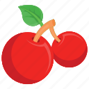 cherry, cherry clipart, fruit ninja, fruits, kids game character