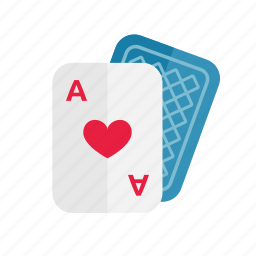 cards, casino, gambling, game, play icon