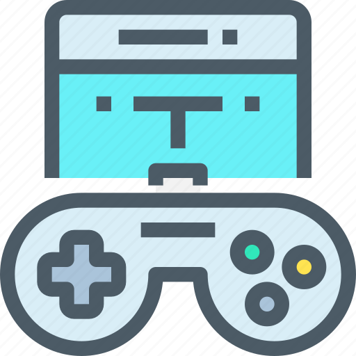 entertainment, game, mobile, smartphone, technology icon
