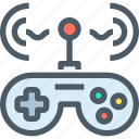 controller, entertainment, technology, game, connect icon