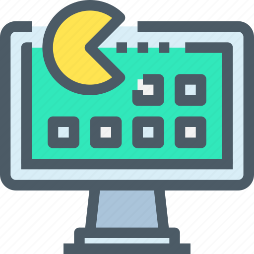 computer, entertainment, game, store, technology icon