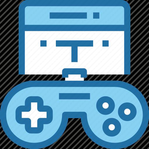 controller, entertainment, game, mobile, technology icon