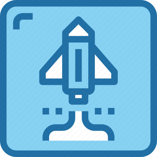 entertainment, game, rocket, space, start up icon