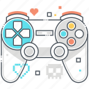 video, pad, controls, game, console, controller icon