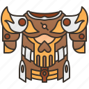 armor, battle, games, knight, suit icon