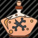 alchemist, bottle, poison, sorcery, wizardry icon
