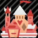 building, castle, fairytale, fantasy, fortress
